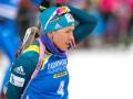 Джима заняла пятое место в гонке преследование на этапе Кубка Мира в Осло