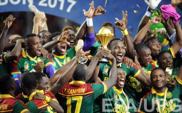 Сборная Камеруна - победитель Кубка Африки