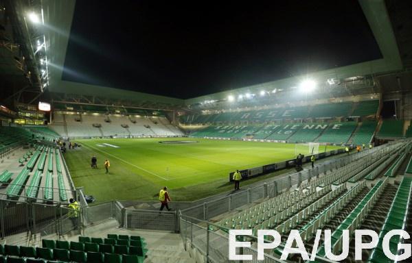 Многофункциональный стадион в городе Сент-Этьен