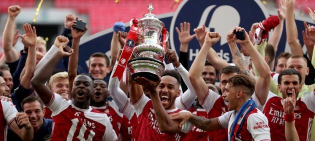 Арсенал завоевал Кубок Англии сезона-2019/20