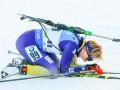 Биатлон: Украина упустила третье место, Норвегия выиграла женскую эстафету