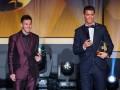 ФИФА раскритиковало Месси и Роналду за отсутствие на торжественной церемонии