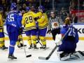 Швеция  сокрушила Италию на ЧМ-2017 по хоккею