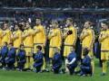 Матч Украина - Словения начнется с минуты молчания