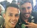 Перед катастрофой: Появились последние фото и видео погибших футболистов