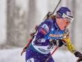 Меркушина завоевала серебро на ЧЕ-2021 по биатлону