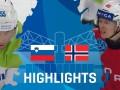 Словения – Норвегия 1:5 Видео шайб и обзор матча ЧМ по хоккею