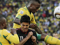 Фотогалерея: Первый блин - миром. ЮАР и Мексика играют вничью