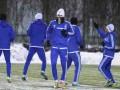 Зимняя тренировка: Как Динамо к матчу с Рапидом на снегу готовилось