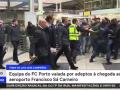 Игроков Порту после вылета из Лиги чемпионов встречали разъяренные фанаты