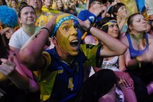И печаль, и радость. Как Киев поддерживал сборную Украины
