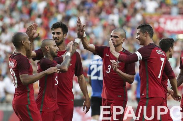Стартовые составы команд Венгрии и Португалии