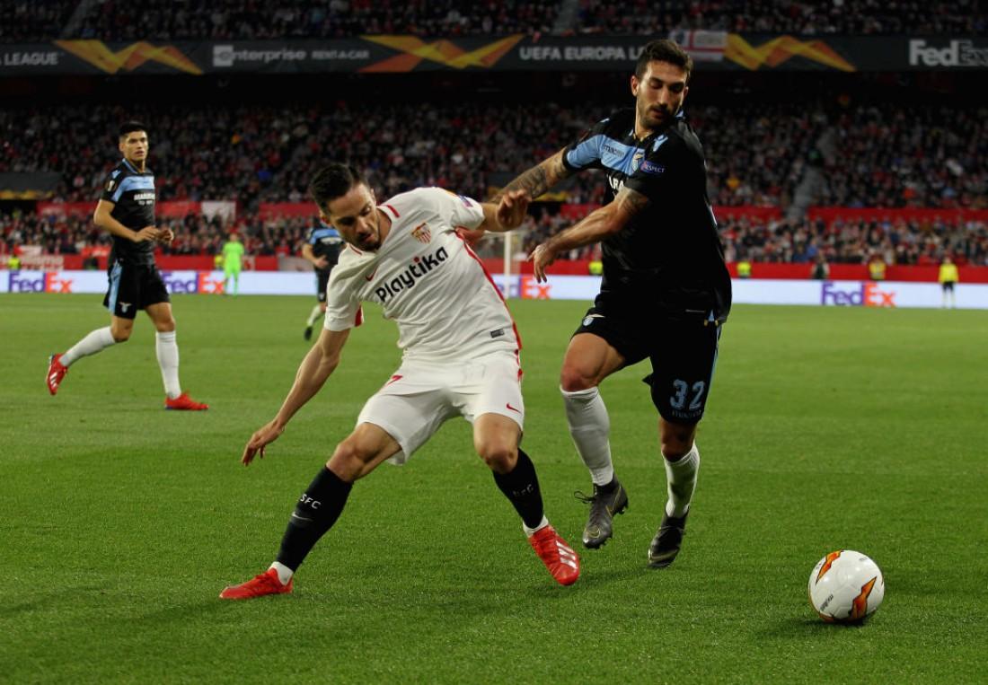 Севилья обыграла Лацио в ответном матче 1/16 ЛЕ