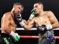 Ломаченко боксировал против Лопеса с травмой плеча