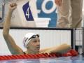 Американка установила мировой рекорд на стометровке баттерфляем и завоевала золото Игр-2012