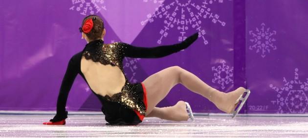 Хныченкова про выступление на Олимпиаде: Не поняла, почему я упала