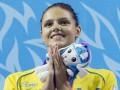 Плавание. Украинка Зевина выиграла три медали на Кубке мира в Дубаях