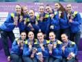 Украинские синхронистки взяли восемь медалей на этапе Мировой серии