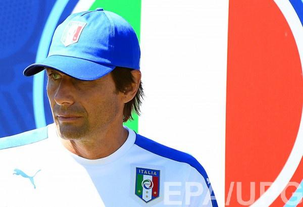 Конте хотел бы еще вернуться в сборную Италии