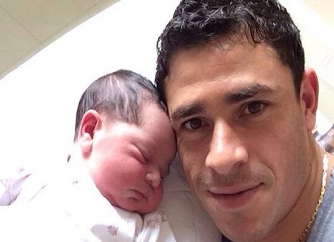Джулиано с дочерью Габриэлой