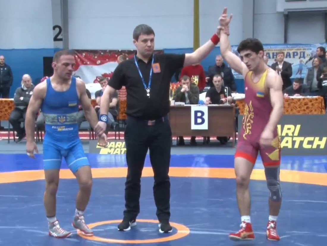 Жора Абовян - чемпион Украины (60 кг)