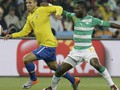 Бразилия побеждает Кот д'Ивуар, теряет Элано и Кака