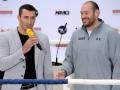 Менеджер Кличко: Фьюри выдвигает неадекватные требования и ищет способы сорвать реванш