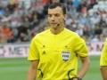 Украинский арбитр обслужит матч Лиги Европы