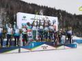 Видео, как женская сборная Украины завоевала серебро в эстафете