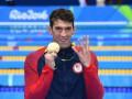 Фелпс выиграл четвертое золото в Рио, став 22-кратным олимпийским чемпионом