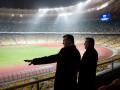 Фотогалерея: На высшем уровне. Янукович показал таджикскому коллеге НСК Олимпийский