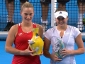 Козлова уступила Бабош в финале турнира в Тайбэе