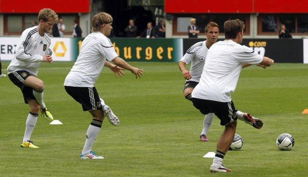 Германия готовится к матчу с Австрией / АР