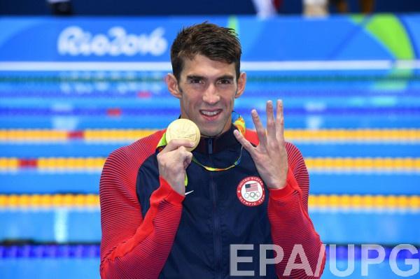 Майкл Фелпс – многократный победитель Олимпийских игр