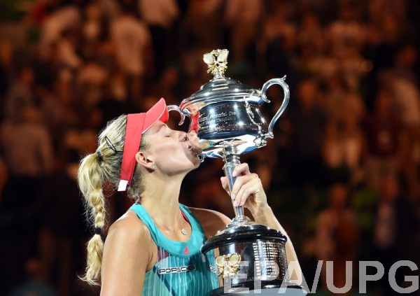Анжелика Кербер - победительница Australian Open 2016