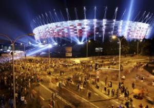 Фотогалерея: На Национальном стадионе в Варшаве прошло Big Light Show
