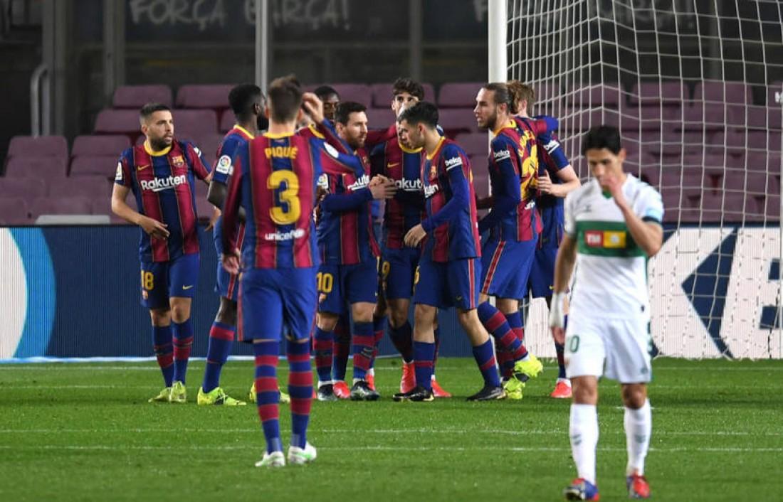 Барселона - Эльче 3:0