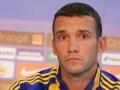 Калитвинцев подтвердил, что Шевченко может пропустить матч с Италией