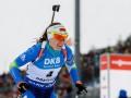 Домрачева прокомментировала свой поступок на финише гонки преследования