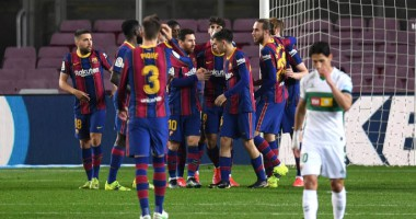 Барселона - Эльче 3:0 видео голов и обзор матча чемпионата Испании
