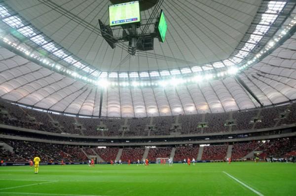 Стадион Народовый может похвастаться крышей