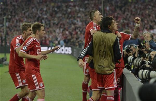 Бавария боруссия финал лиги чемпионов обзор