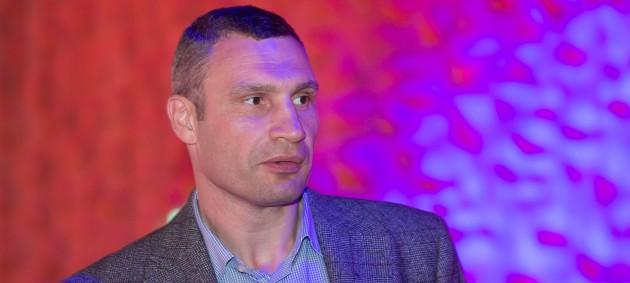 Тренировку с Виталием Кличко продали на аукционе за 150 тысяч гривен