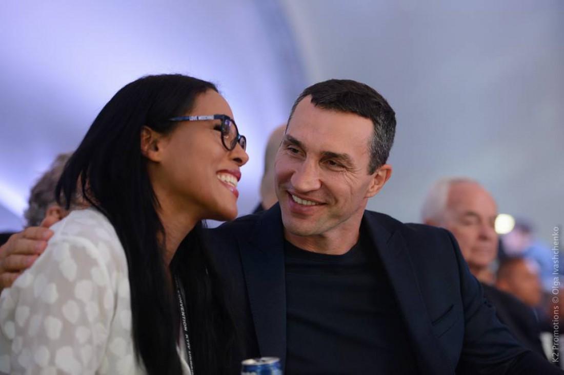 Владимир Кличко и Сесилия Брекхус