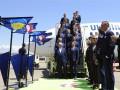 Сборная Украины прибыла во Францию на Евро-2016