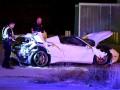 Видео ужасной аварии, в которую попал Эррол Спенс
