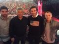 Игроки донецкого Шахтера вместе с Луческу посетили концерт Мадонны