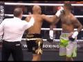Боксер подло нокаутировал соперника и показал средний палец зрителям