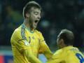 Ярмоленко вошел в пятерку лучших бомбардиров сборной Украины