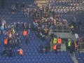 Массовая драка фанатов во время матча Днепр - Металлист